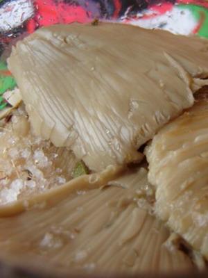 Рецепт соленых сыроежек холодным способом