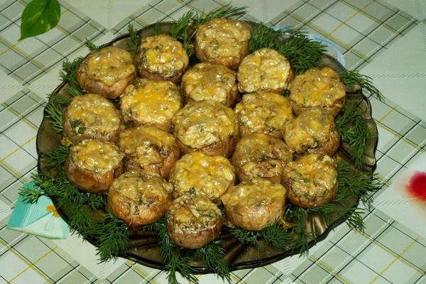 Приготовление холодных и горячих закусок из грибов