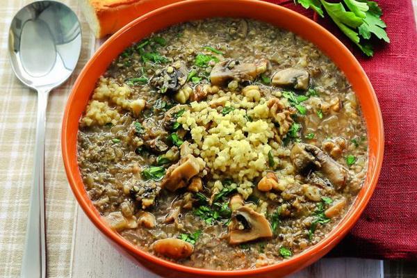 Как сварить грибной суп из сушеных грибов рецепт