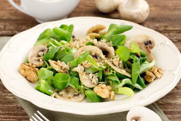 Рамштайн с грибами салат рецепт