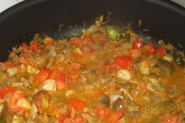 Грибы с овощами: рецепты тушеных и запеченных блюд