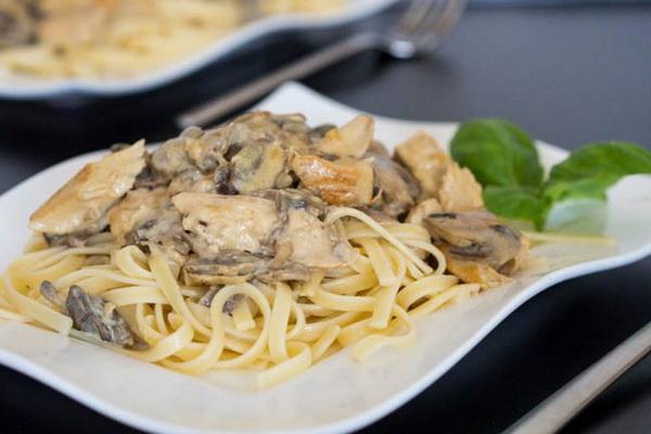 как приготовить пасту с грибами для спагетти