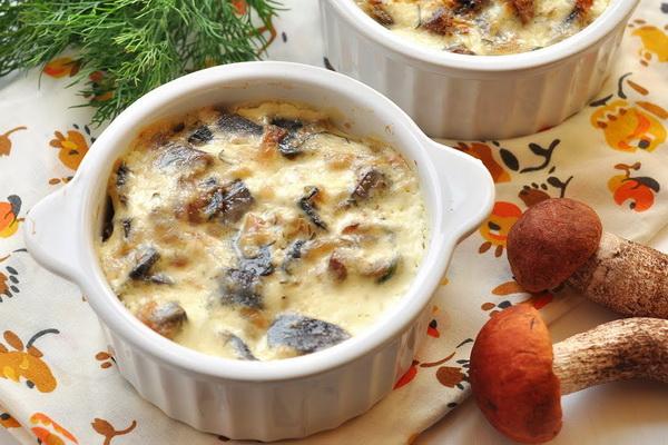 блюда из белых сушеных грибов рецепты с фото