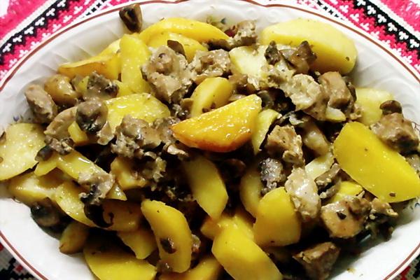 Рецепты с сухими грибами