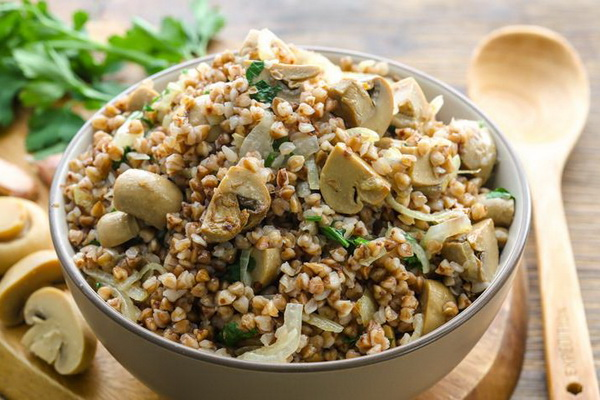 Каши и ризотто с грибами: рецепты приготовления