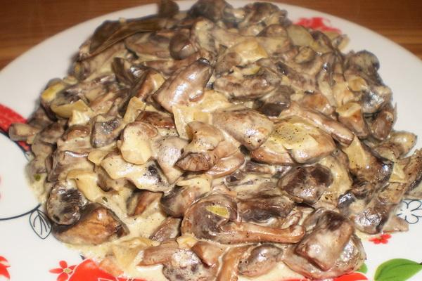 Приготовление блюд из жареных грибов: рецепты с фото