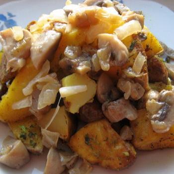 рецепты блюд из картофеля с курицей в духовке #9