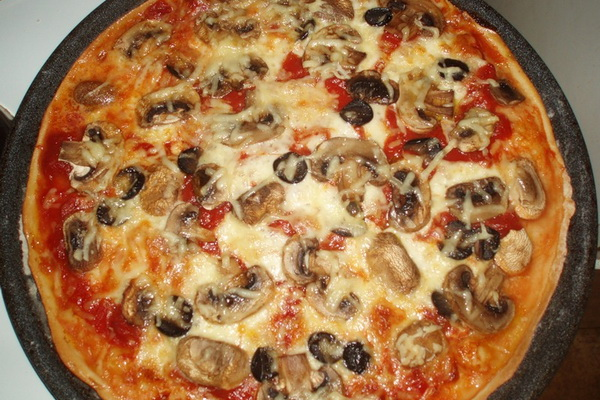 Рецепты лазаньи и пиццы с грибами